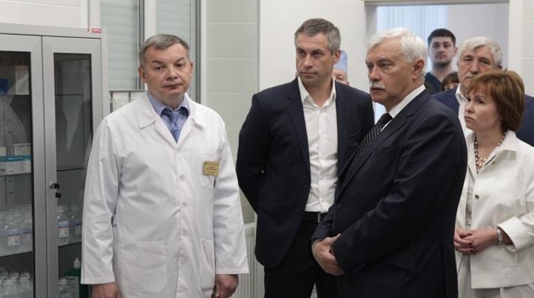 В госпитале для ветеранов в Петербурге открыли отделение с ангиографом нового поколения