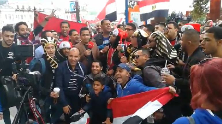 В Петербург прибыла сборная Египта. С этой командой российские футболисты встретятся на поле 19 июня.