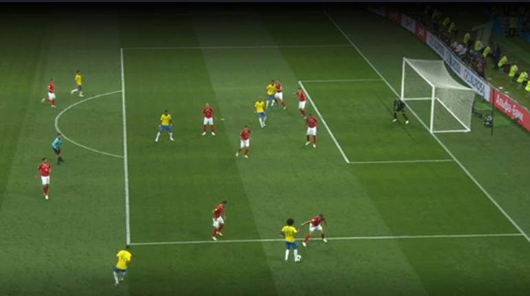 Бразилия и Швейцария начали свое выступление на ЧМ-2018. Игра стартовала в 21 час в воскресенье, 17 июня, на стадионе