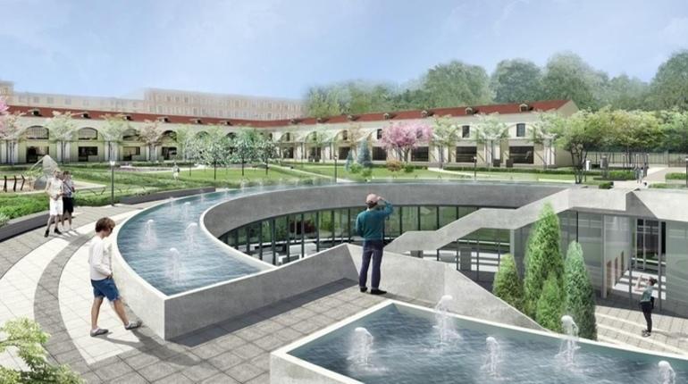 Петербуржцы опубликовали в сети проект рекреационной зоны в центре города. Он предполагает реновацию Мытного двора с созданием выставочного центра, зоны отдыха с деревьями и фонтанами, велодорожкой, детскими и спортивными площадками.