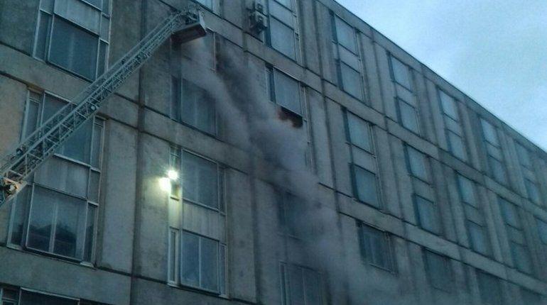 На Киришской горят склады НПО «Импульс»