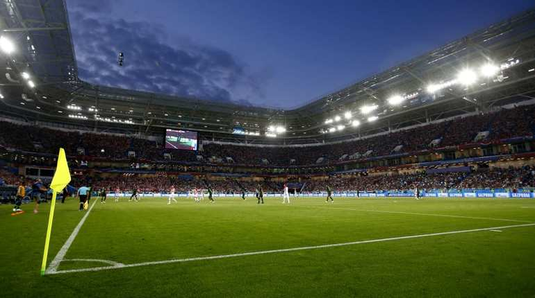 В Калининграде идет матч группового этапа ЧМ Испания - Марокко.