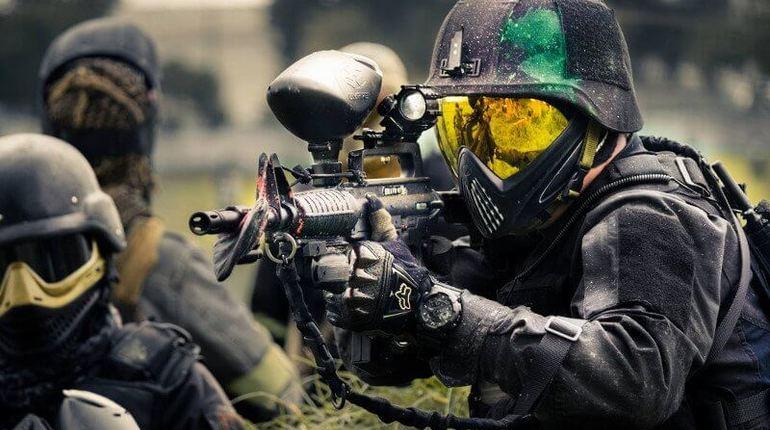 Армия США станет использовать пейнтбольное оружие