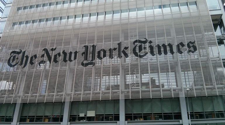 Украину возмутила карта The New York Times с российским Крымом