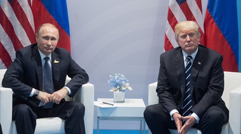 Путин и Трамп договорились о встречи