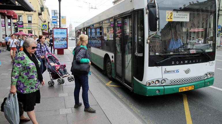 Ограничения движения в Петербурге изменили маршруты автобусов