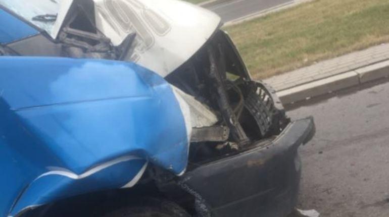 Очевидец: в ДТП между маршруткой и автобусом пострадал ребенок