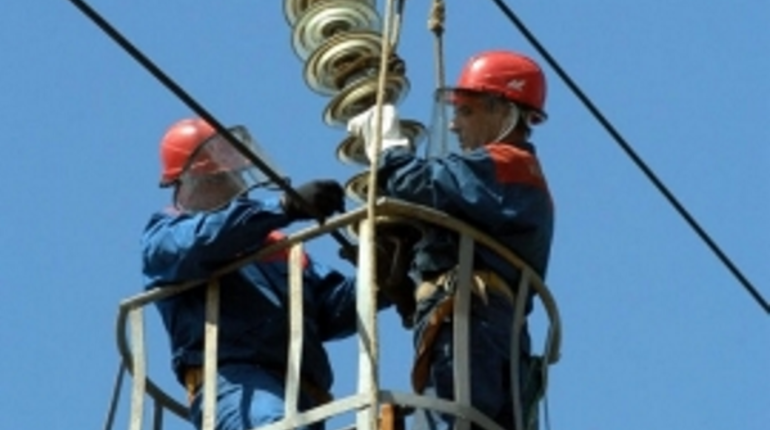 Жителям Волосовского района вернули электричество