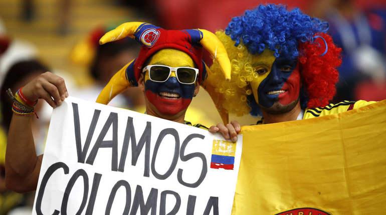 Англия и Колумбия начали последний матч одной восьмой финала ЧМ
