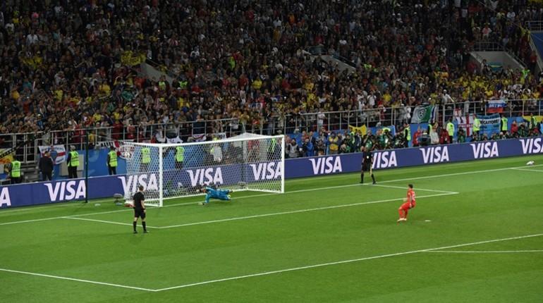 Англия вышла в четвертьфинал ЧМ-2018