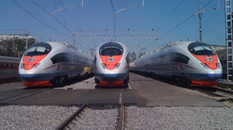 Пассажиропоток «Сапсанов» между Москвой и Петербургом вырос на 10%