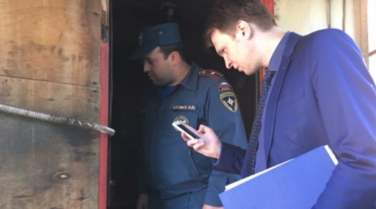 В Красногвардейском районе Петербурга проверили безопасность автостоянок