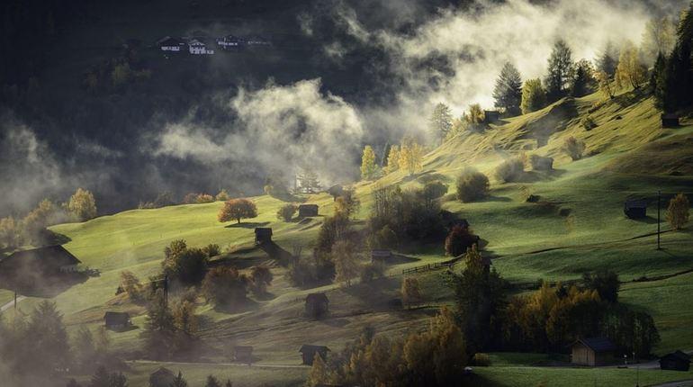 В ближайшие дни Ленобласть накроет туманом и дождем