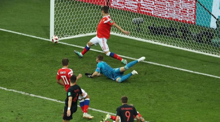 Хорватия снова забила России: счет 1:2