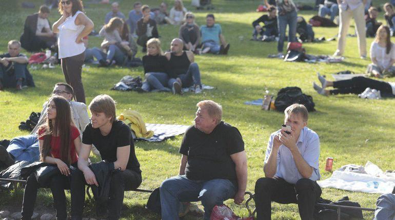 Юсуповский сад собрал поклонников блюза