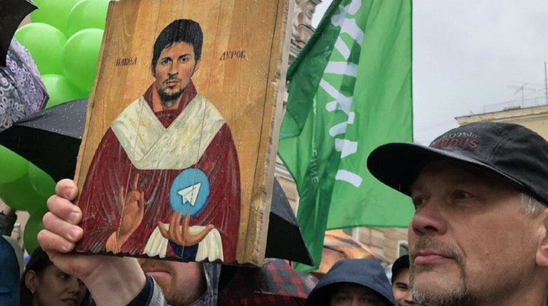 Икону с Дуровым на аукционе продали за 11,5 бутылок шампанского
