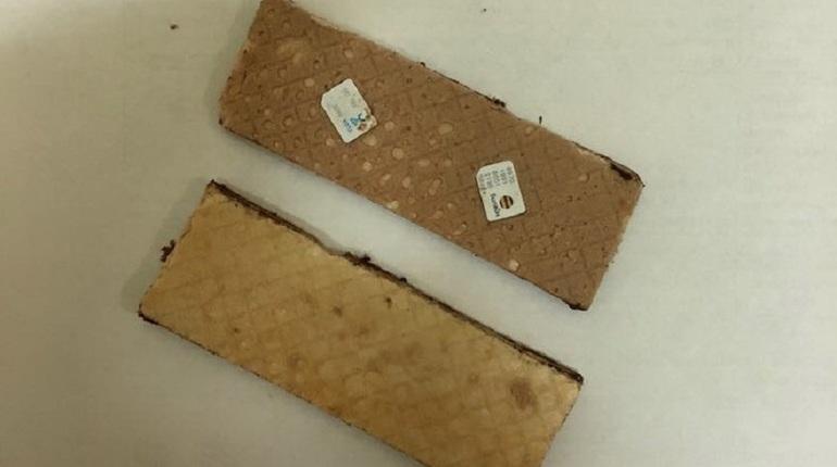 В СИЗО №3 изъяли вафли с сим-картами
