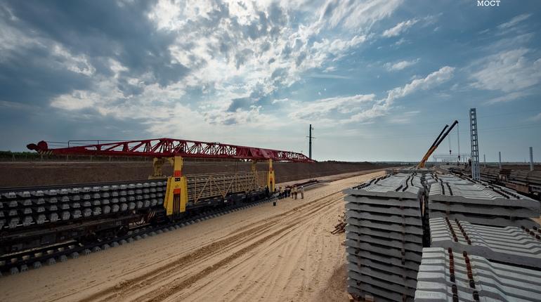 Железная дорога на Крымском мосту будет бесшумной