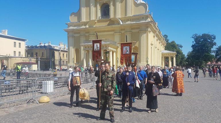 В Петербурге стартовал Крестный ход в память о царской семье