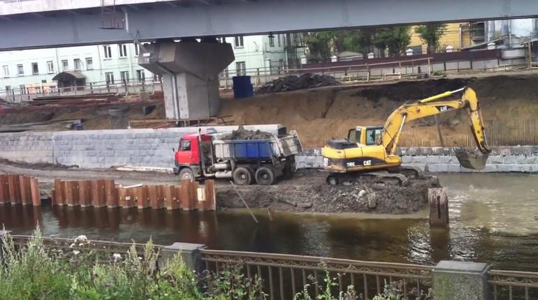 Экоактивисты выявили новое загрязнение Обводного канала