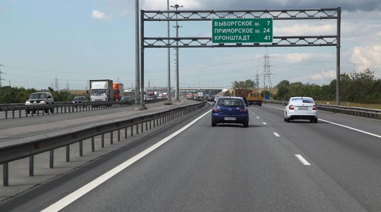 Движение по КАД от Выборгского шоссе до ЗСД закроют до сентября