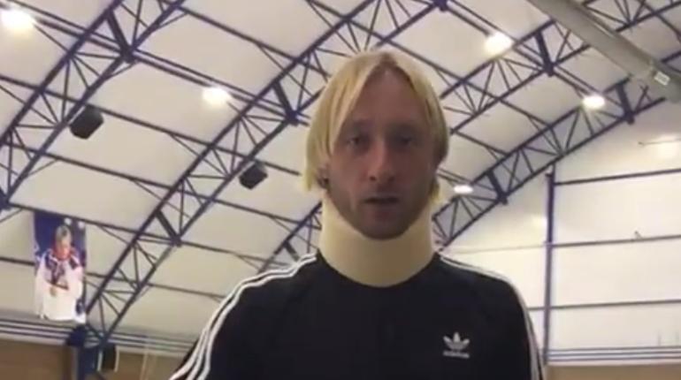 Плющенко перенес выступления из-за травмы шеи