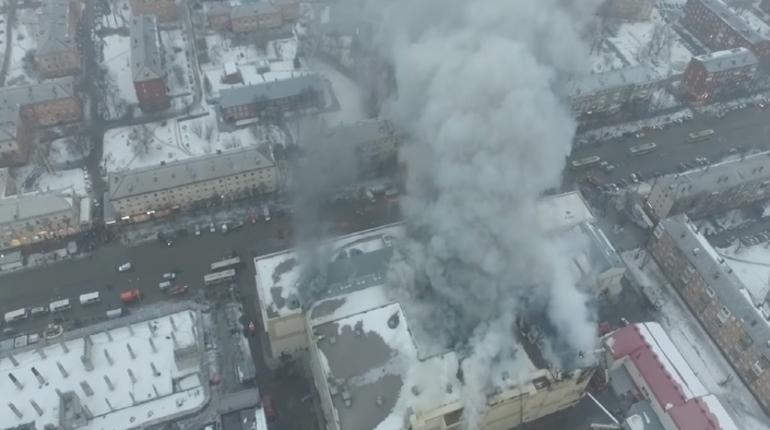В Кемерово начали снос «Зимней вишни»