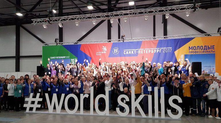 В «Экспофоруме» открылся юношеский WorldSkills