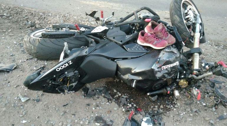 В Ленобласти насмерть разбился байкер: шлем не помог