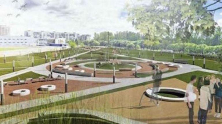Сквер поколений заменит городской рынок в Киришах