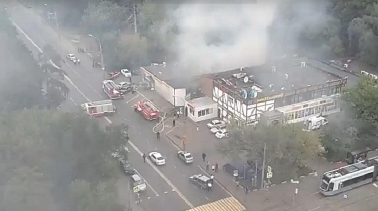16 июля в московском кафе на северо-западе столицы произошел взрыв бытового газа.