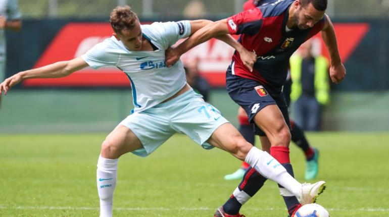 В товарищеском матче петербургской футбольной команде удалось победить итальянский футбольный клуб «Дженоа».