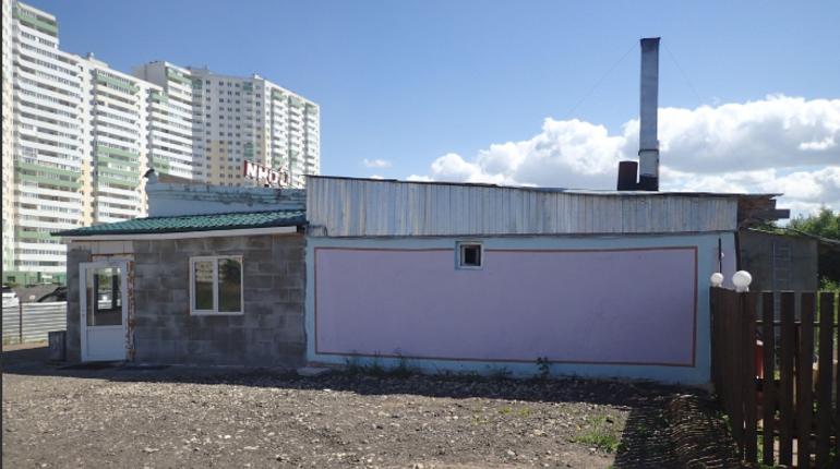 В Петербурге продолжается борьба с незаконными кафе и ресторанами. Очередь дошла до Шушар. По решению суда в микрорайоне снесут самострой под названием