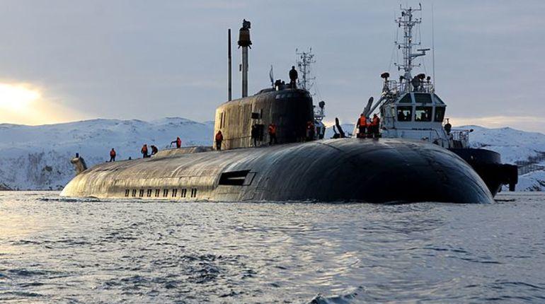 Атомный крейсер «Орел» присоединился к подготовке Главного морского парада