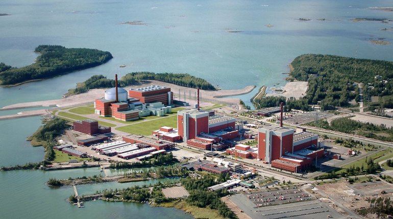 Финские власти заявили о возможном дефиците электроэнергии в стране. На АЭС Олкилуото остановили оба энергоблока.