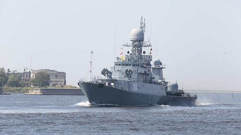20 июля в Петербурге и Кронштадте пройдет вторая тренировка парада ВМФ
