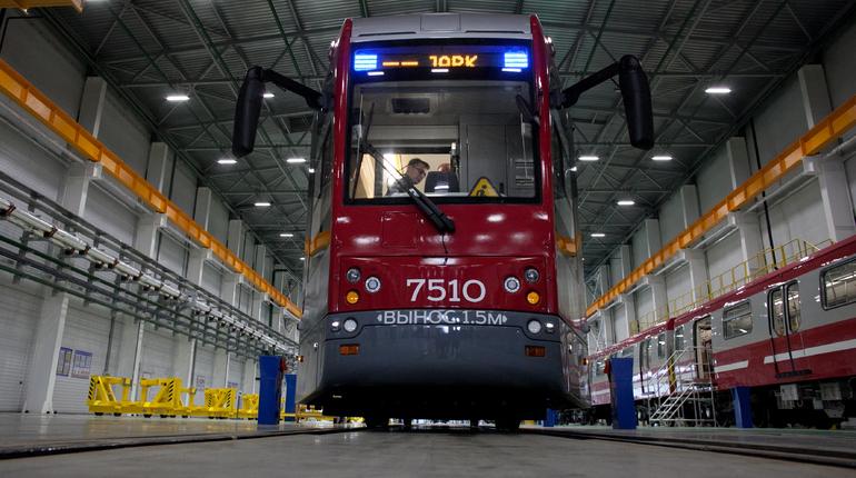 В петербургские трамваи инвестируют 2 млрд рублей