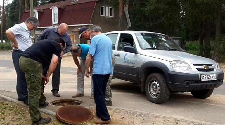 В деревне Игокиничи вернули водоснабжение