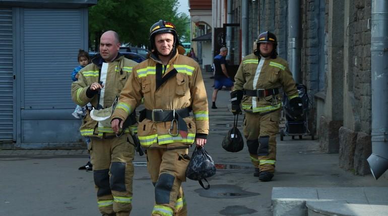 В Кировском районе Петербурга горел подвал