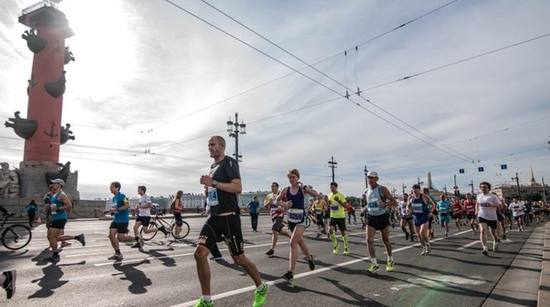 В петербургском марафоне «Белые ночи» поучаствуют спортсмены из 60 стран
