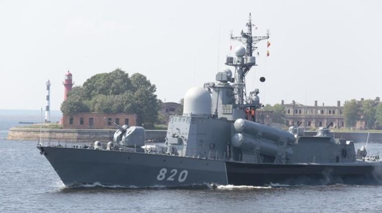 В Петербурге репетируют Главный военно-морской парад