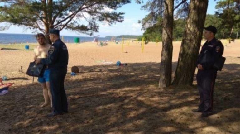 Спецслужбы пресекают попытки разжигания костров на пляжах Ленобласти