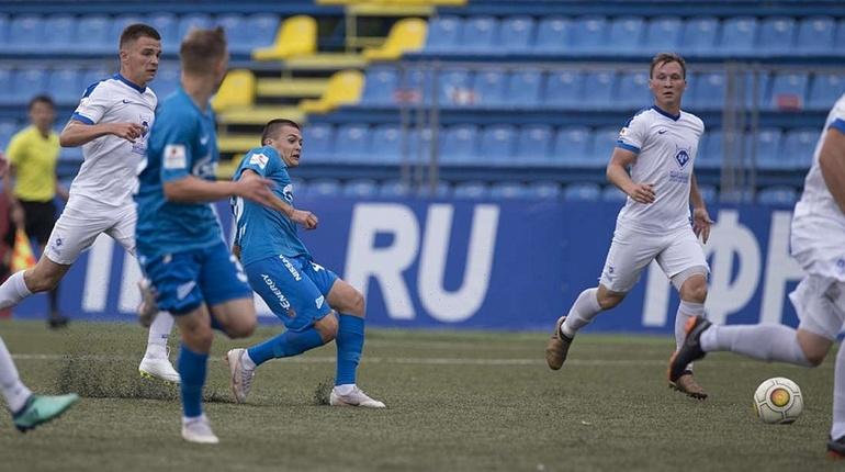 «Зенит-2» проиграл в матче с Чертаново