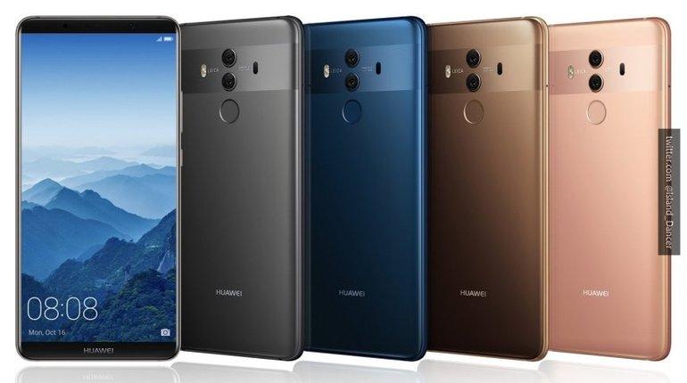 По продажам в России Huawei обогнала Apple