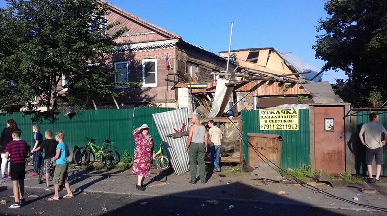 В Красном селе дом взорвало газовым баллоном