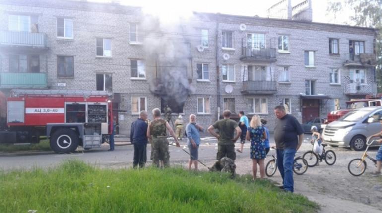 При взрыве газа в Приозерске пострадал пенсионер