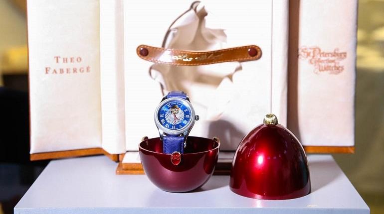 Часы по эскизу Тео Фаберже подарили Царскому Селу