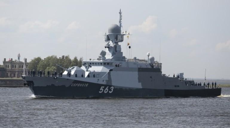 Генеральная репетиция парада ко дню ВМФ начнется в Петербурге через час