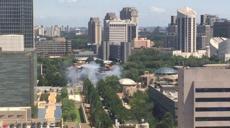 Посольство США подтвердило информацию о взрыве в Пекине