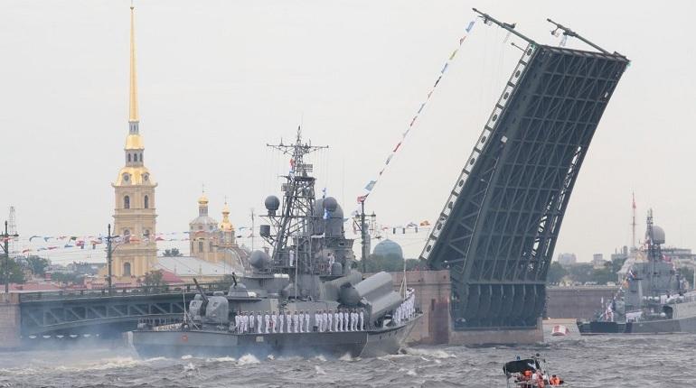 Главная репетиция морского парада через объектив камеры фотографа «Мойки78»